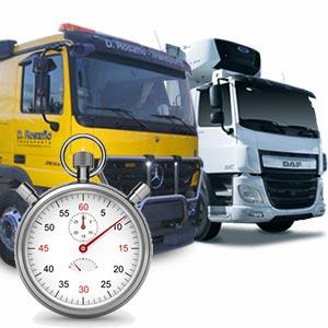 Contrat d'assurance camion temporaire